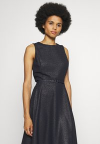 Lauren Ralph Lauren - WOODSTCK FOIL DRESS - Day dress - navy/silver - 3