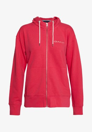 STRIPES FULL ZIP HOODIE - Sudadera con cremallera - love potion