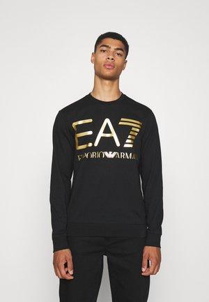 Sweatshirt - black/gold-coloured