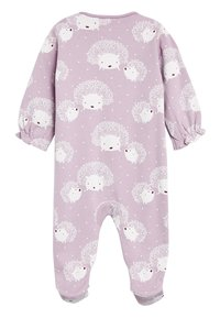 Next - 3 PACK HEDGEHOG SLEEPSUITS - Pyžamo - purple - 2