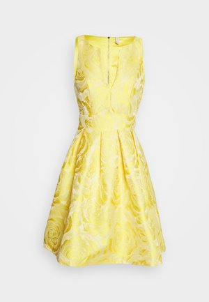 YASMINNIE DRESS PETITE SHOW - Cocktail dress / Party dress - vibrant yellow