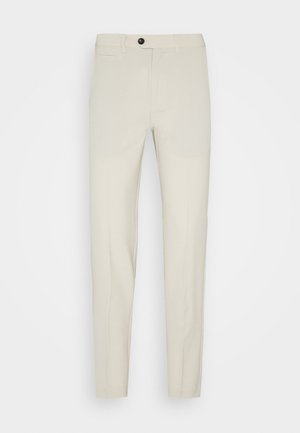 CLUB PANTS - Tygbyxor - light sand