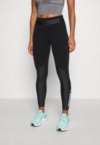 Sweaty Betty - POWER MISSION HIGH WAIST WORKOUT LEGGINGS - Leggings - black - 0