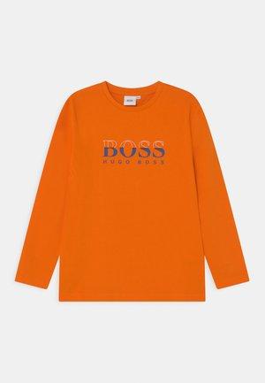 LONG SLEEVE - Top sdlouhým rukávem - orange