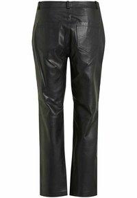 Vila - Leather trousers - black - 6
