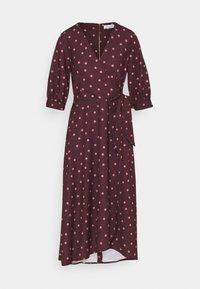 Closet - CLOSET GATHERED  - Day dress - brown - 4
