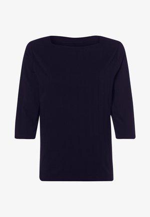 MIT U BOOT AUSSCHNITT - Long sleeved top - dunkelblau