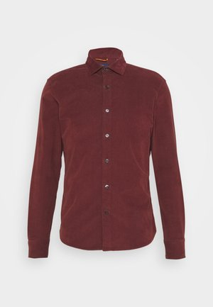 ALPHA SPREAD COLLAR - Camicia - hot chocolate