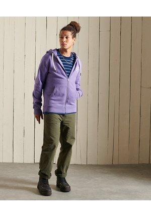 HERITAGE MOUNTAIN - Zip-up sweatshirt - prism violet