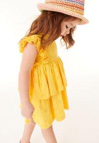 Next - Day dress - yellow - 0