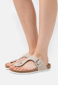 Esprit - T-bar sandals - beige - 0