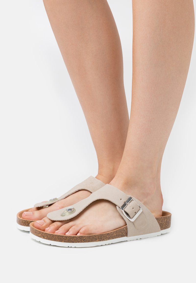 Esprit - T-bar sandals - beige