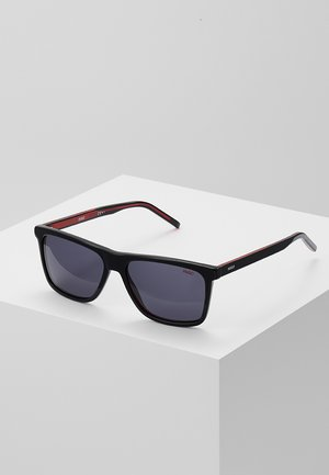 Sunglasses - black/red/gold-coloured