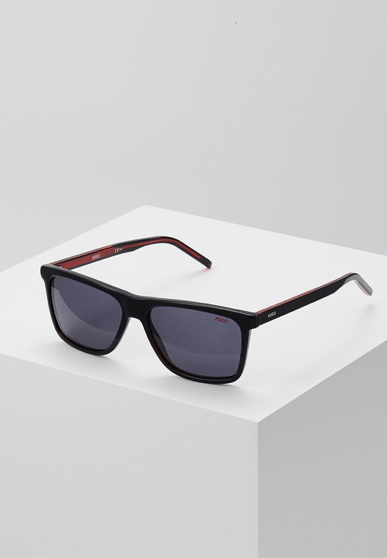 HUGO - Sluneční brýle - black/red/gold-coloured