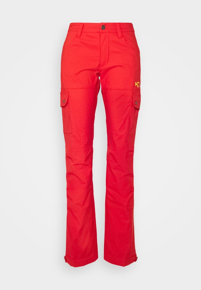 SIRI PANT - Skibroek - red