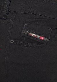 Diesel - D-STRUKT - Jeans Tapered Fit - black denim - 5