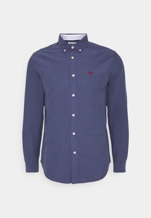 SOLID OXFORD ORGANIC - Camicia - dark blue