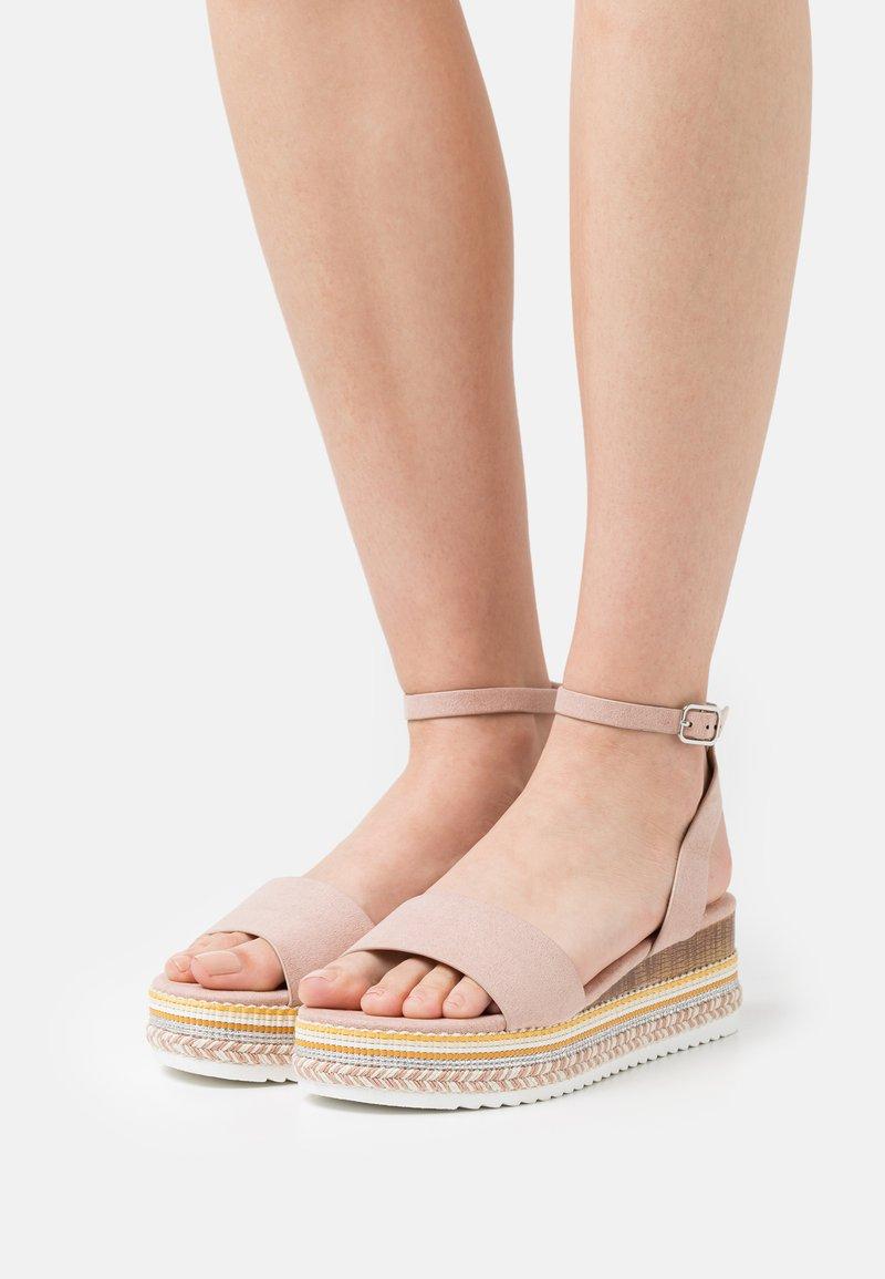 Anna Field - Platform sandals - light pink