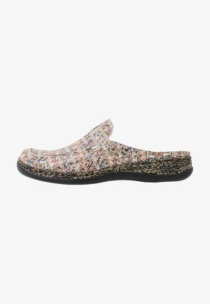 Domácí obuv - multicolor