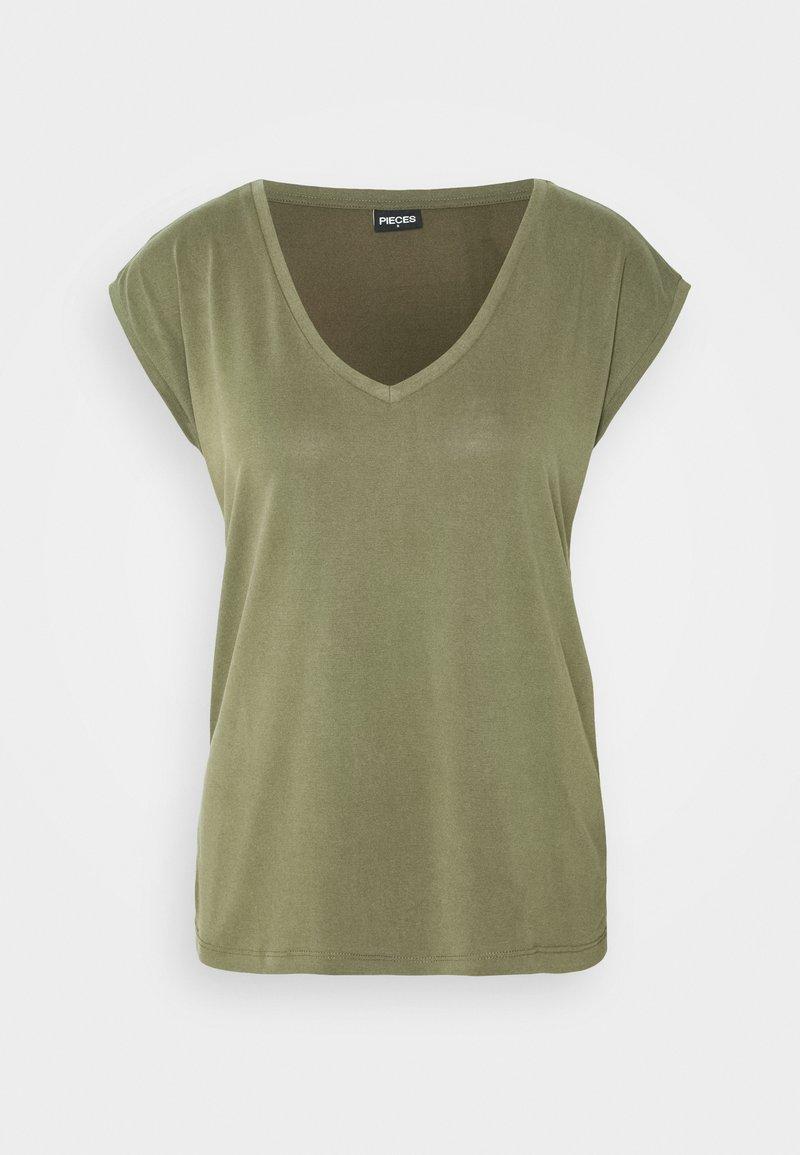 Pieces PCKAMALA - T-Shirt basic - slate/hellblau GNBnNY