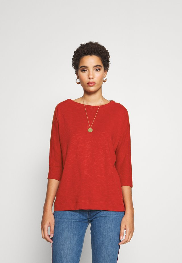 Langarmshirt - dark red