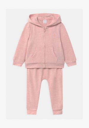 SET - Tracksuit - pink heather