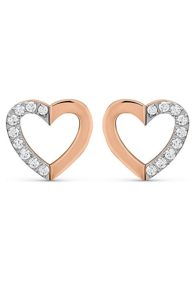 Earrings - rosé gold