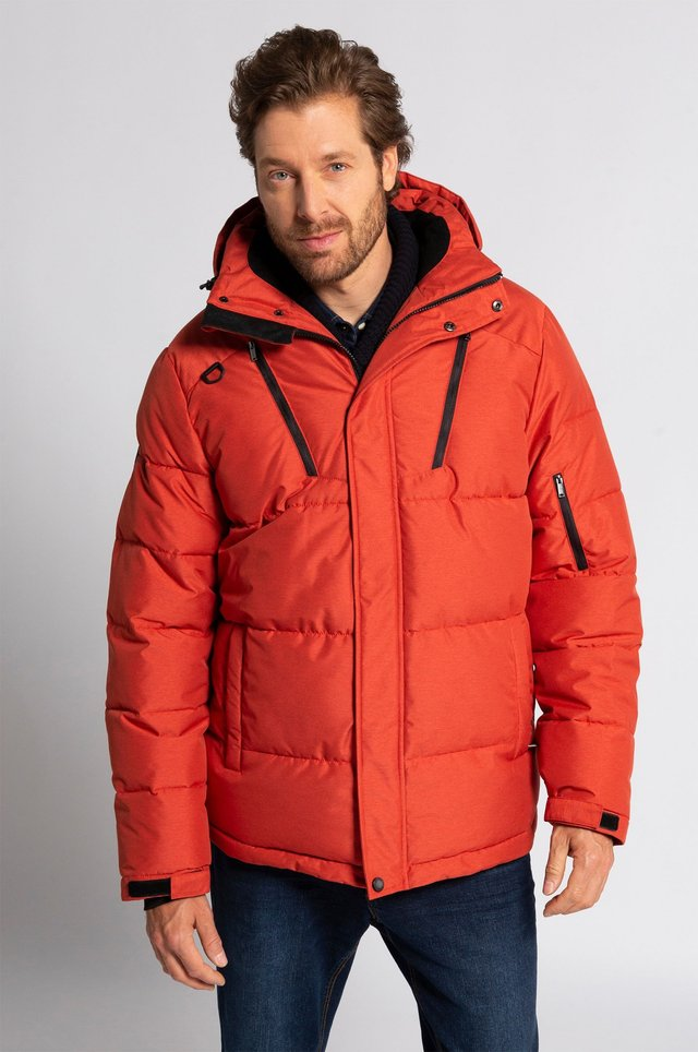 Veste d'hiver - mottled red