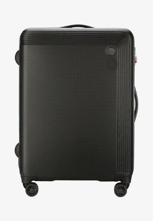 MODERN - Wheeled suitcase - black