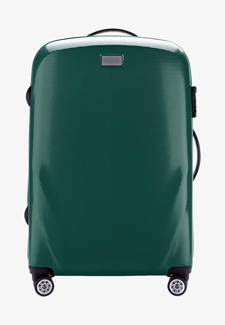Wittchen - MITTLERER KOFFER - Wheeled suitcase - green