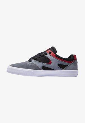 KALIS VULC UNISEX - Sneakers laag - black/grey/red