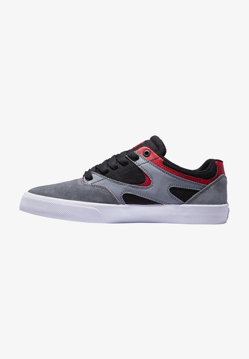 DC Shoes - KALIS VULC UNISEX - Trainers - black/grey/red
