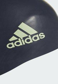 adidas Performance - 3-STREIFEN SILIKON BADEKAPPE - Swimming accessory - blue - 3