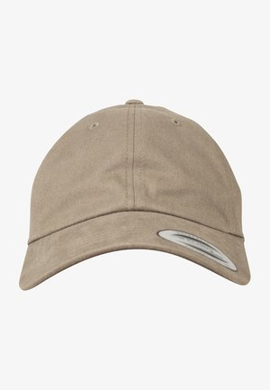PEACHED COTTON TWILL DAD - Cap - loden