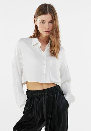 MIT TASCHE - Košile - white