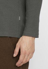 Solid - UPANO - Long sleeved top - castlerock - 4