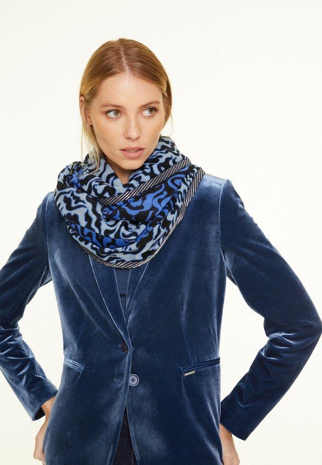 Scarf - sapphire blue