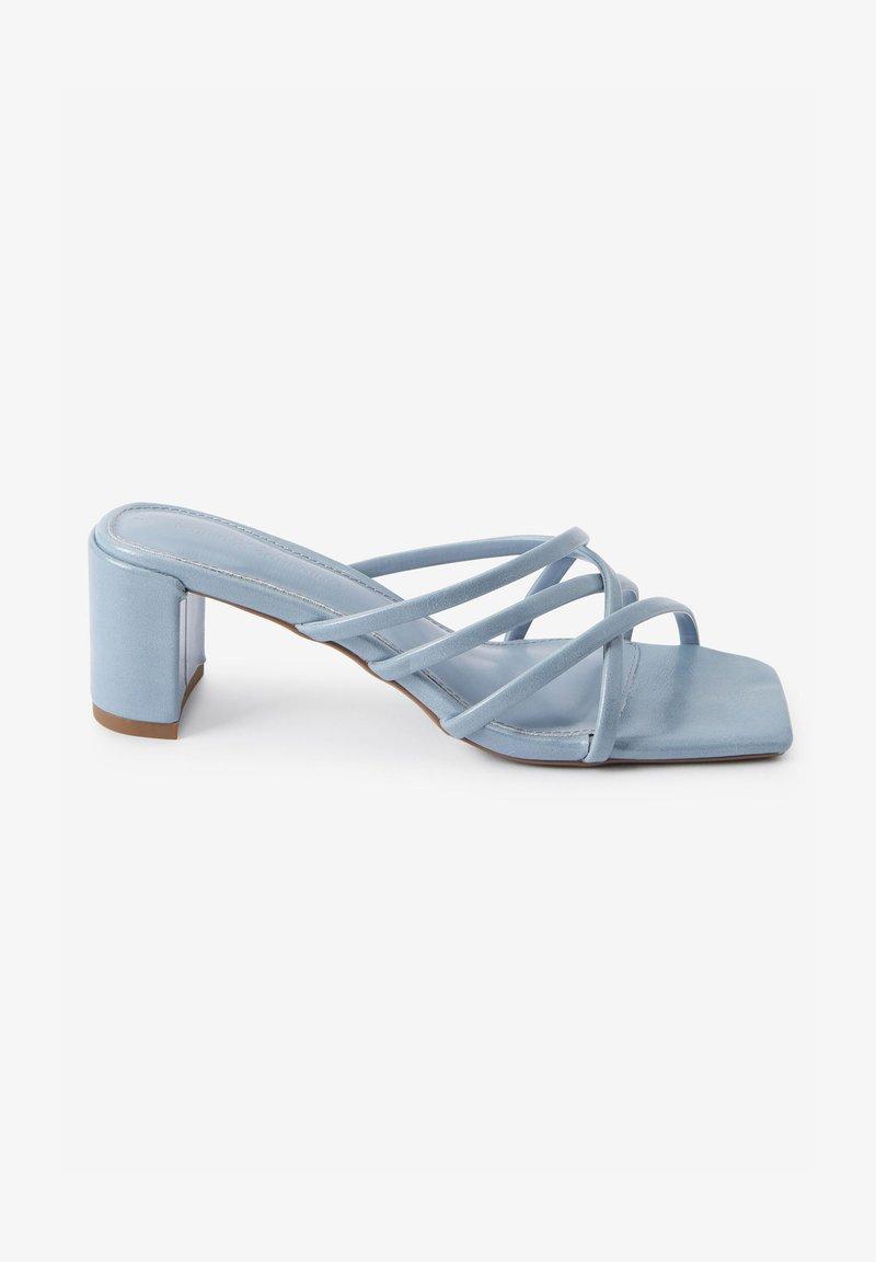 Next - Heeled mules - blue