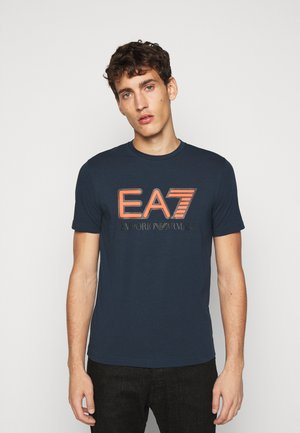 Camiseta estampada - navy blue