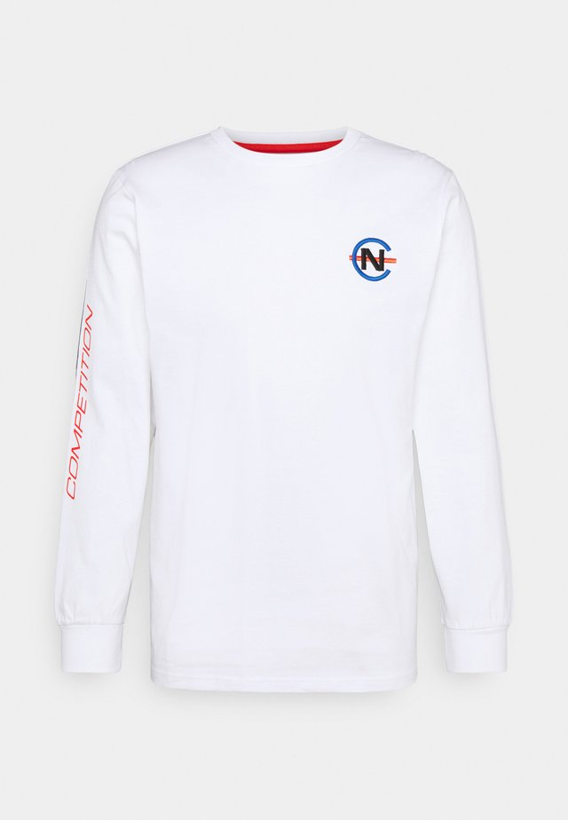 LAVEER - Langærmede T-shirts - white