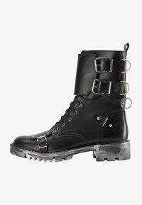 myMo ROCKS - Cowboy/biker ankle boot - schwarz - 4
