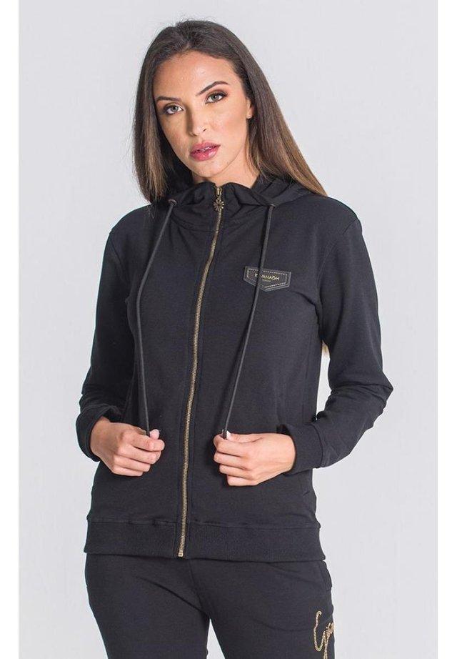 DIAMOND  - veste en sweat zippée - black