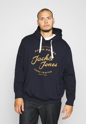 JJHERO HOOD - Sweatshirt - navy blazer