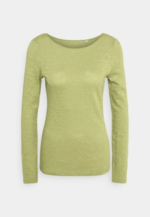 LONG SLEEVE - Long sleeved top - dried sage
