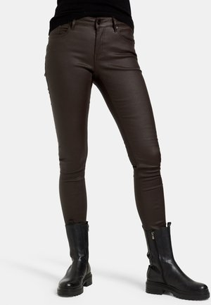 CYRA - Slim fit jeans - brown