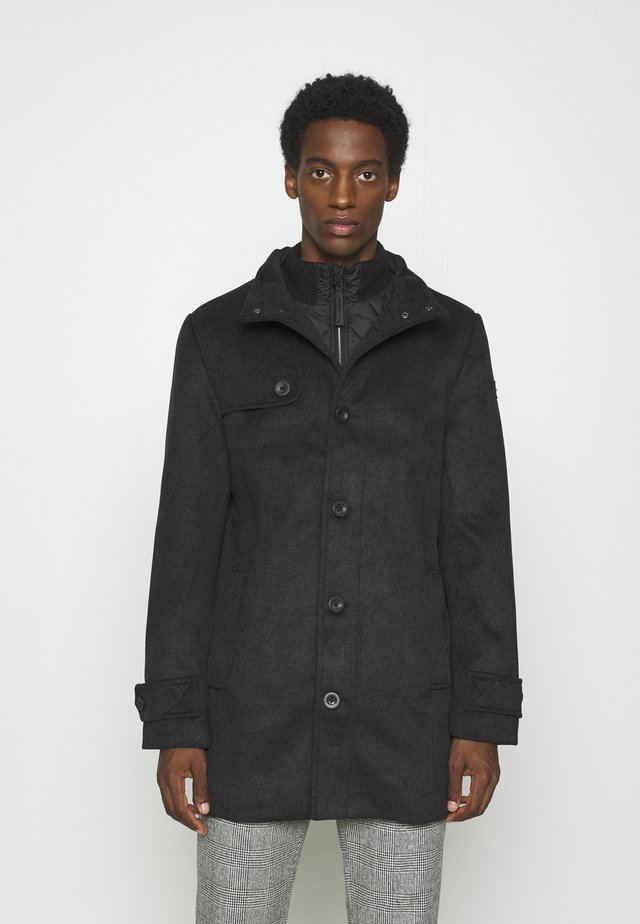 COAT - Cappotto corto - black