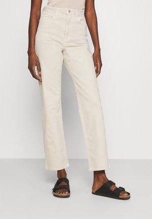 TATJANA - Jeans straight leg - beige