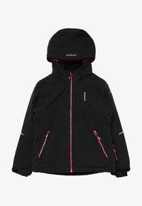 Icepeak - LEEDS - Lyžařská bunda - black melange - 2