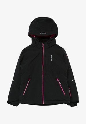 LEEDS - Lyžařská bunda - black melange