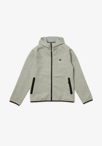 Sweater met rits - heidekraut grau / hellgrau